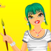 Painter Girl Dressup